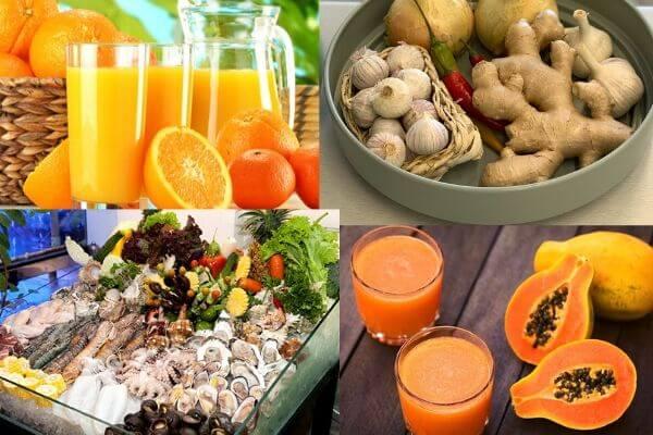Dinh dưỡng nâng cao sức đề kháng trong mùa dịch
